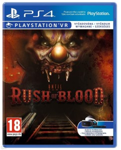 Gra Sony Until Dawn Rush of Blood VR