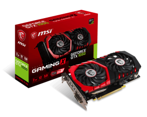 Karta graficzna MSI GeForce GTX 1050 TI GAMING X 4GB GDDR5