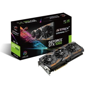 Karta graficzna ASUS GeForce GTX 1060 Strix 6GB GDDR5