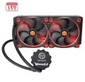 Thermaltake Water 3.0 Riing Red 280 (2x140mm, miedź)