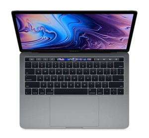 Apple MacBook Pro 13 Touch Bar, 2.4GHz quad-core 8th i5/8GB/512GB SSD/Iris Plus Graphics 655 - Space Grey MV972ZE/A