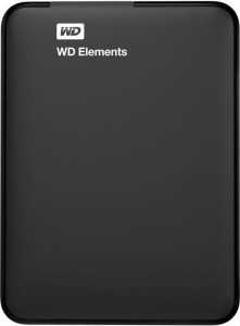 Western Digital Elements 1TB  2,5'' USB3. WDBUZG0010BBK-WESN