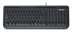 Microsoft Wired Keyboard 600           ANB-00019