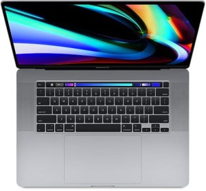 Apple MacBook Pro 16 Touch Bar: 2.3GHz 8-core 9th i9/16GB/RP5500M/1TB - Silver MVVM2ZE/A