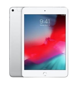 Apple iPad mini Wi-Fi + Cellular 64GB - Silver MUX62FD/A