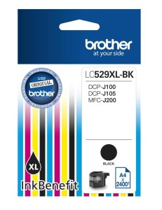 Brother Tusz LC529XL BK 1300 do DCP-J100 DCP-J105