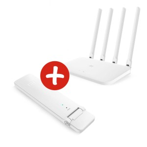 Router + Repeater Xiaomi BIAŁY