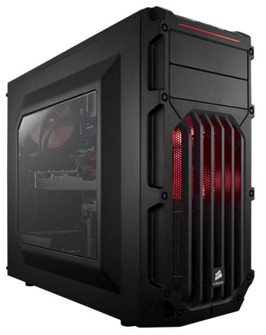 Corsair Carbride SPEC-03 Windowed BLACK/RED LED Mid-Tower