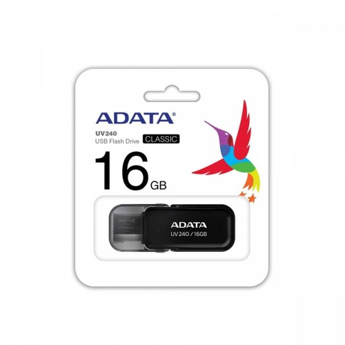 Adata Pendrive UV240 16GB USB 2.0 Czarny