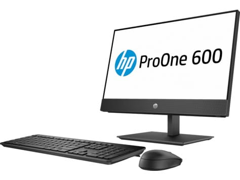 HP Inc. Komputer ProOne 600AIOT G4 i3-8100 500/4GB/DVD/W10P 4KX32EA