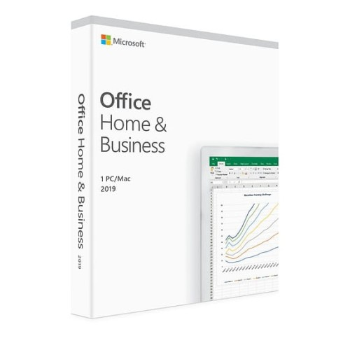 Microsoft Office Home & Business 2019 ENG Box Win/Mac 32/64bit T5D-03216. Zastępuje P/N: T5D-0282