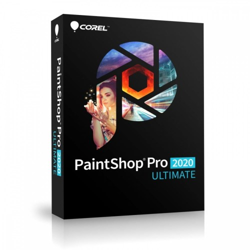 Corel PaintShop Pro 2020 Ultimate Box PSP2020ULMLMBEU