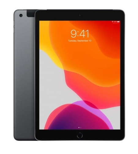 Apple iPad 10.2-inch Wi-Fi + Cellular 128GB - Space Grey MW6E2FD/A